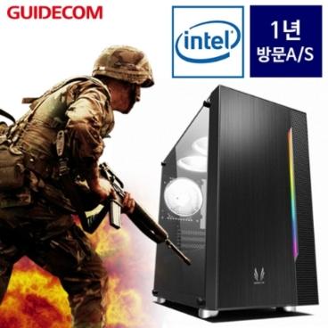 가이드컴 91F2 (i3 9100/GTX1650/8G) 게이밍 조립컴퓨터/토탈워 삼국/배틀그라운드/몬헌