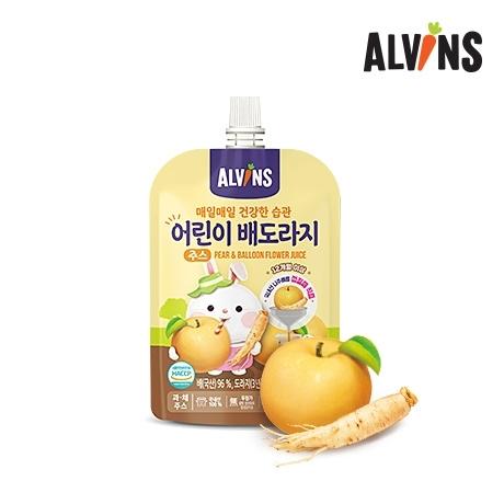 [엘빈즈] 배도라지 40포 / 어린이 음료