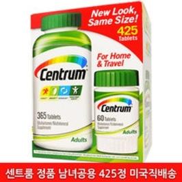 [커클랜드] [해외배송] 센트룸 성인 남녀공용 종합비타민 425정''