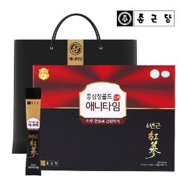 [쇼핑백증정]종근당 6년근 홍삼정 골드 애니타임 스틱