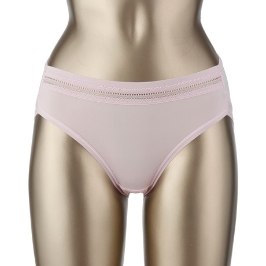 여성 폴리스판 레이스 팬티(핑크) 90