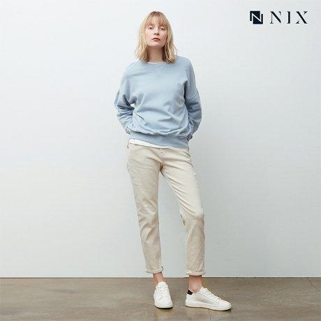 [닉스](여) IV크롭 보이프렌드 데님 (HNOSDDB526P)
