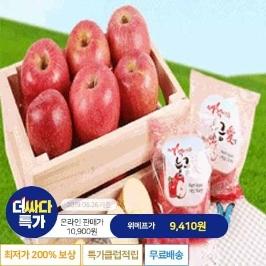 [더싸다특가] [하루농산] 능금애 세척사과 3kg (17과내외)
