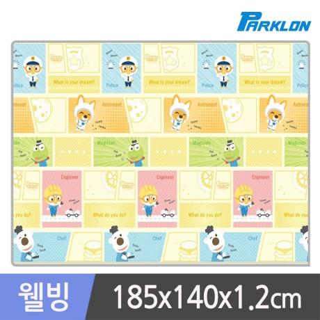 뽀로로 카툰잡 웰빙 놀이방매트 185x140x1.2cm