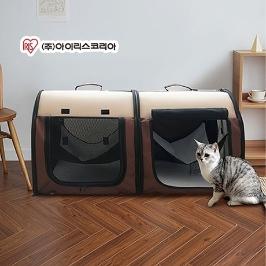 아이리스 매쉬 분리가능 고양이 해먹 하우스형 텐트 DCC1039B