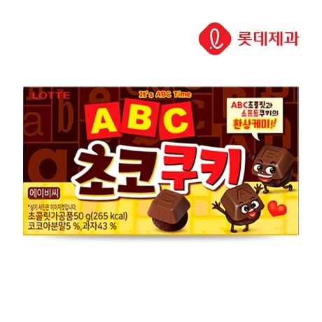 [롯데] ABC 초코쿠키 50g