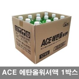 에이스 에탄올 워셔액 1.8Lx12개 1박스