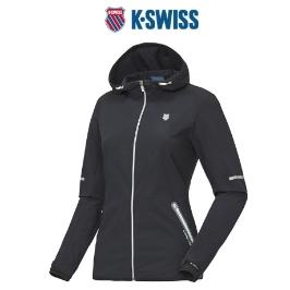 [케이스위스] 웰딩 포인트로 고급스러운 폴리소재의 여성 바람막이 재킷 4218JK351