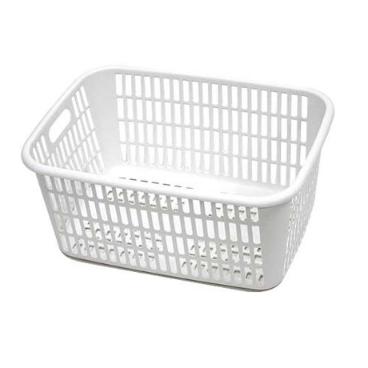 [싸고빠르다] 사각 세탁 바구니 (화이트) / 400*300*200