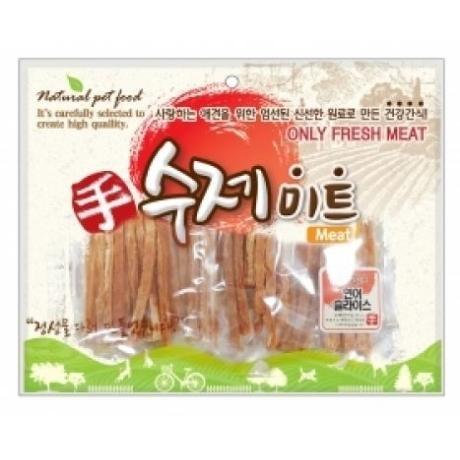 수제미트 대용량 강아지간식 (연어슬라이스) 300g