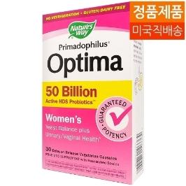 [네이쳐스웨이] [해외배송]네이쳐스웨이 500억 유산균 옵티마 우먼스 30정