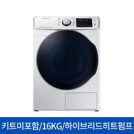 [롯데백화점] [삼성전자(전자)] (스태킹/앵글미포함) DV16R8540KW 건조기 그랑데 16KG 화이트