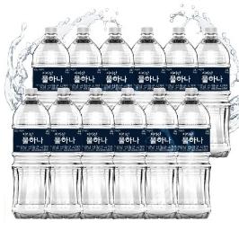 [무료배송] 지리산 생수 2L X 12