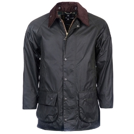 바버 Beaufort Wax Jacket_Sage