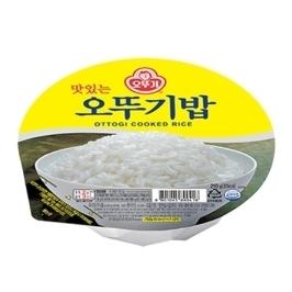[원더배송] 맛있는 오뚜기밥 210g 48개