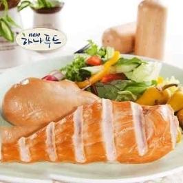 하나푸드 훈제닭가슴살10KG 닭가슴살 단백질 식단 4주 200g 50팩