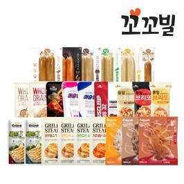 [더싸다특가] 꼬꼬빌 전상품 맛보기 패키지 25팩