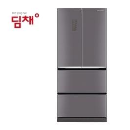 [딤채] [쿠폰+카드 1,949,000원] 공식인증점 딤채 스탠드형 김치냉장고 EDQ57CERMJS 551L 본사무료배송설치