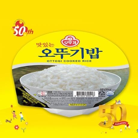 맛있는 오뚜기밥 210g X 36개/즉석밥/햇반