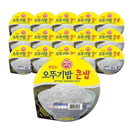 오뚜기밥 큰밥 300gX15개