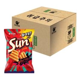 [원더배송] 오리온 썬 핫스파이시맛 80g x 12입 (1box)
