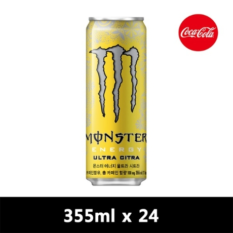 몬스터 에너지 그린 355CAN X24
