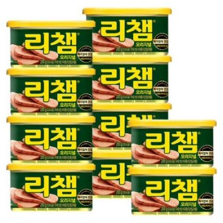 (현대Hmall)[동원]리챔 200g x 10캔 /햄/통조림