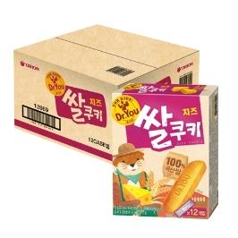 [원더배송] 오리온 닥터유 치즈 쌀쿠키 62g x 12개(1box)