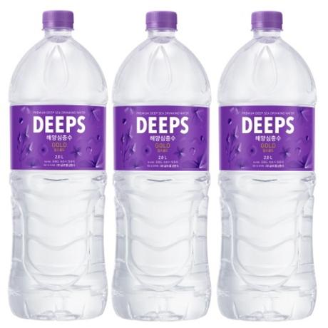 [해양심층수]딥스 골드(경도200) 2.0L x 6페트 생수