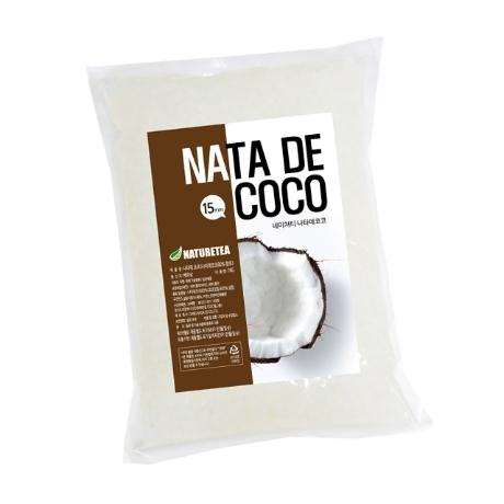 네이쳐티 나타데코코(5x5x15mm) 1kg 코코넛젤리/나타드코코
