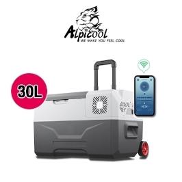 [알피쿨] [해외배송] 알피쿨 가정용차량용 이동식 냉장고 CX모델 30L 독일기술콤프 냉동고 관세포함!