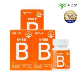 씨스팡 활력팔팔 비타민B 3개월
