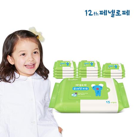 페넬로페 손세정 티슈 15매x12팩
