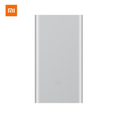 [샤오미] 정품 샤오미 휴대용 보조배터리 2세대 10000mAh 실버/XIAOMI/스마트폰