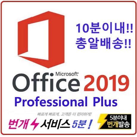 [마이크로소프트] 오피스 2019 프로페셔널 플러스
