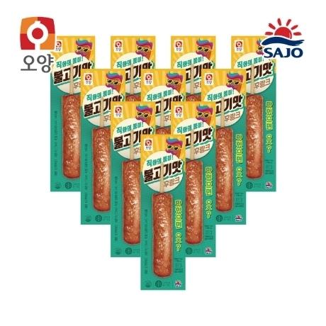 사조 불고기맛후랑크 70g 10팩 - 1세트당 3,950원