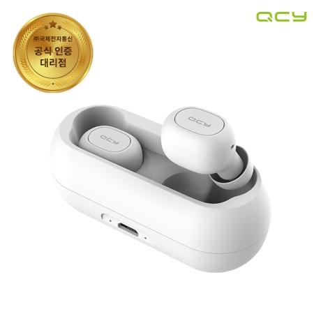(국내공식판매) QCY T1C TWS 블루투스 5.0 무선 이어폰