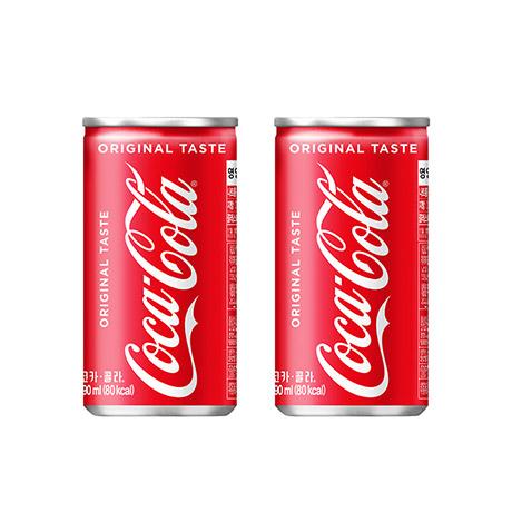 [코카콜라]코카콜라 190ml 캔 X 60입