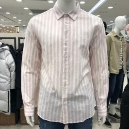 [모다아울렛] 닉스 린넨  스트라이프 셔츠 (컴포트핏) NNE CSL102 - 3