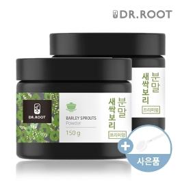 [더싸다특가] 닥터루트 국내산 새싹보리 분말 가루 150g 2통