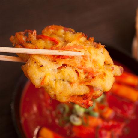(단독구매불가) 바삭바삭 야채튀김 3개