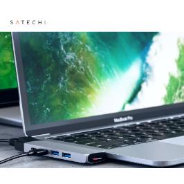 [해외배송] 사테치 USB허브 3종 맥북과 어울리는 멀티허브 / SATECHI / 인기색상 재고보유 / 항공 무료배송