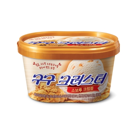 롯데푸드 구구크러스터 소보루크럼블 1개
