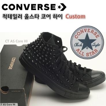 ca820a09288 [Converse] 정품 컨버스 올스타 척테일러 하이탑 커스텀 스터드 찡 컴뱃 신발(AB_B) 위메프 프라이스 119,000원 ...