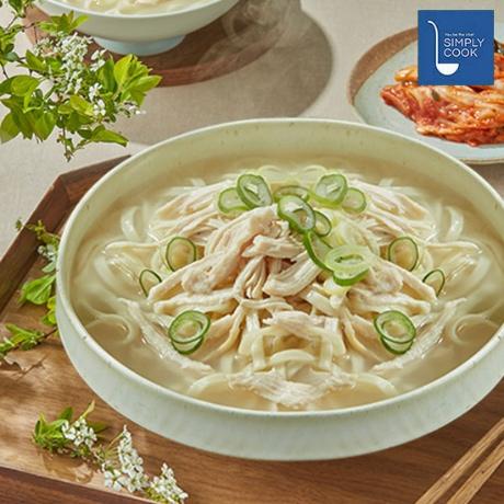 심플리쿡) 일산식 닭칼국수 2인분 (정상가: 13,000원)