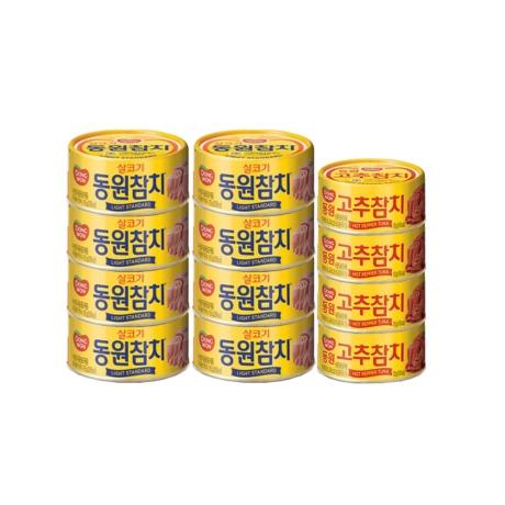 [동원] 동원 살코기참치 150gX8개 + 고추참치 100gX4개