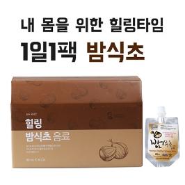 힐링밤식초음료 80ml*30 하루한팩으로 건강해지는 전통방식 자연발효음료