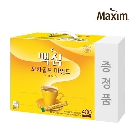 맥심 모카골드400T 커피믹스+증정