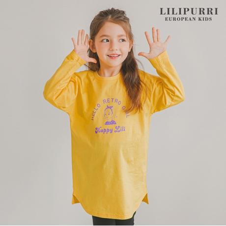 [LILIPURRI]레트로롱티(옐로우)