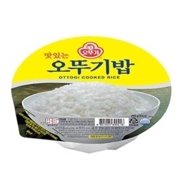 [원더배송] 맛있는 오뚜기밥 210g 36개